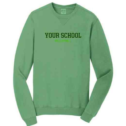 Volleyball  Pigment Dyed Crewneck Sweatshirt