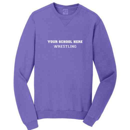 Wrestling Pigment Dyed Crewneck Sweatshirt