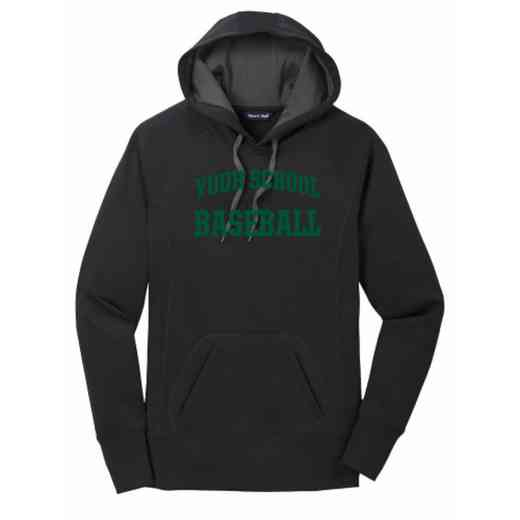 Baseball Women's Sport-Tek Tech Fleece Hooded Sweatshirt