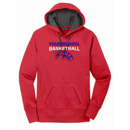 Basketball Women's Sport-Tek Tech Fleece Hooded Sweatshirt