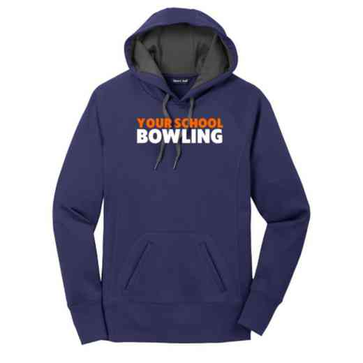 Bowling Women's Sport-Tek Tech Fleece Hooded Sweatshirt
