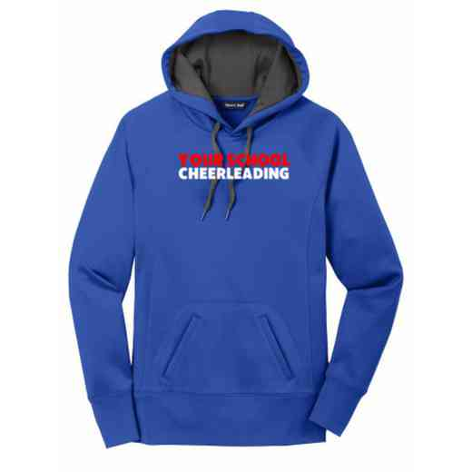 Cheerleading Women's Sport-Tek Tech Fleece Hooded Sweatshirt