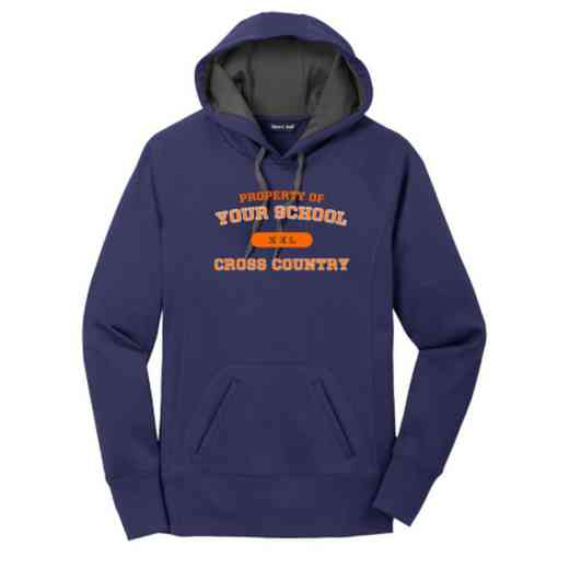 Cross Country Women's Sport-Tek Tech Fleece Hooded Sweatshirt