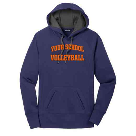 Volleyball  Women's Sport-Tek Tech Fleece Hooded Sweatshirt
