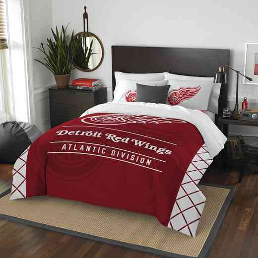 1NHL849000006RET: NW NHL F/Q COMFORTER SET, RED WINGS