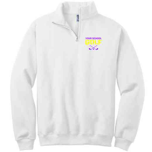 Golf Embroidered Youth Quarter Zip Sweatshirt