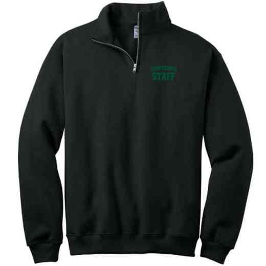 Staff Embroidered Youth Quarter Zip Sweatshirt