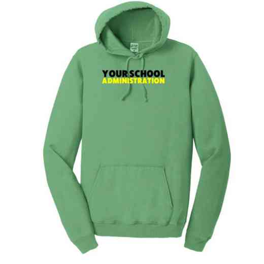 Administration Pigment Dyed Hooded Sweatshirt