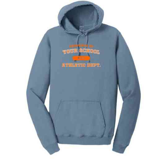 Athletic Department Pigment Dyed Hooded Sweatshirt