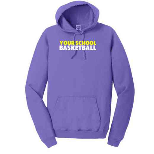 Basketball Pigment Dyed Hooded Sweatshirt
