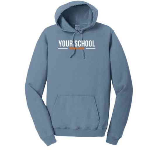 Bowling Pigment Dyed Hooded Sweatshirt