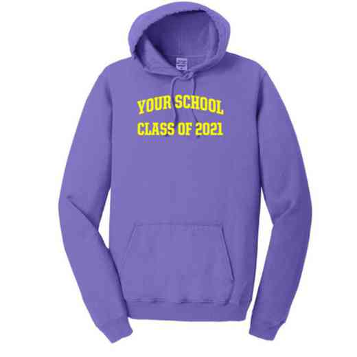 """Class of """""""" Pigment Dyed Hooded Sweatshirt"""