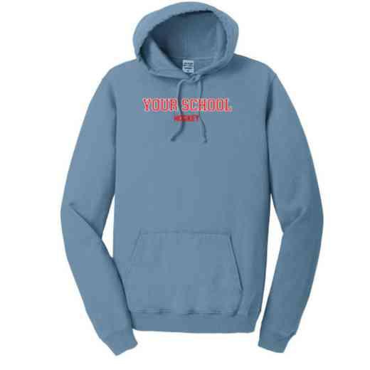 Hockey Pigment Dyed Hooded Sweatshirt