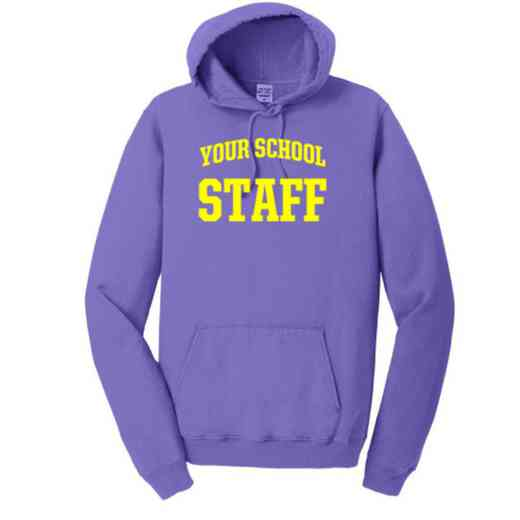 Staff Pigment Dyed Hooded Sweatshirt