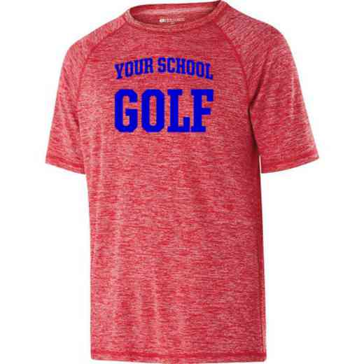 Golf Holloway Youth Electrify Performance Shirt