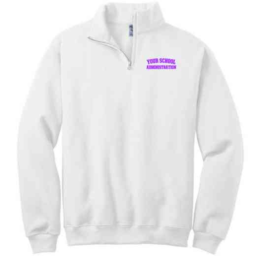 Administration Embroidered Adult Quarter Zip Sweatshirt