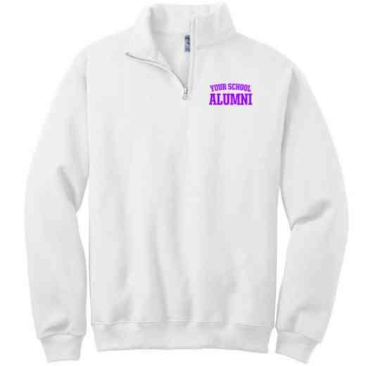Alumni Embroidered Adult Quarter Zip Sweatshirt