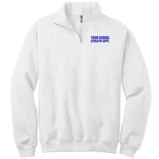 Athletic Department Embroidered Adult Quarter Zip Sweatshirt