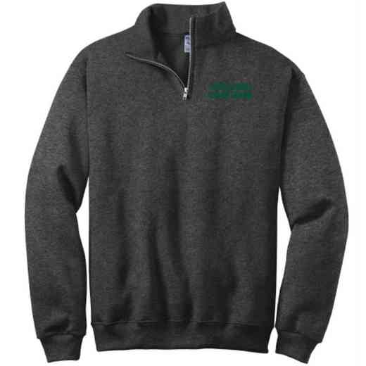 Color Guard Embroidered Adult Quarter Zip Sweatshirt