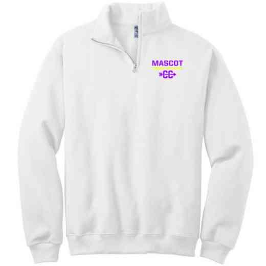 Cross Country Embroidered Adult Quarter Zip Sweatshirt