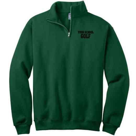 Golf Embroidered Adult Quarter Zip Sweatshirt