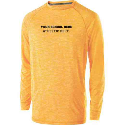 Athletic Department Youth Holloway Electrify Long Sleeve Performance