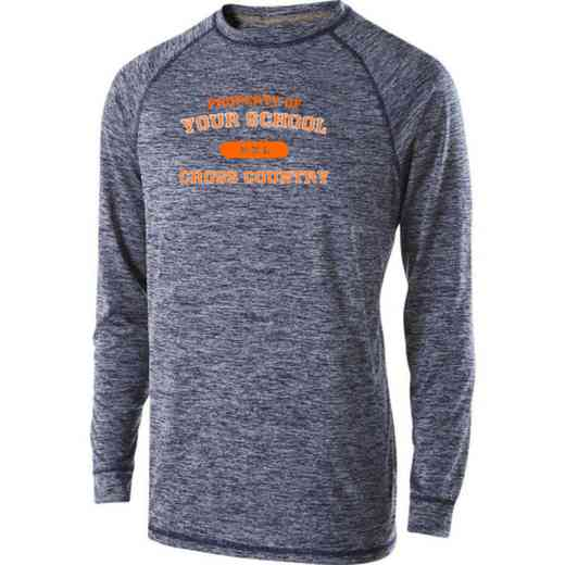 Cross Country Youth Holloway Electrify Long Sleeve Performance
