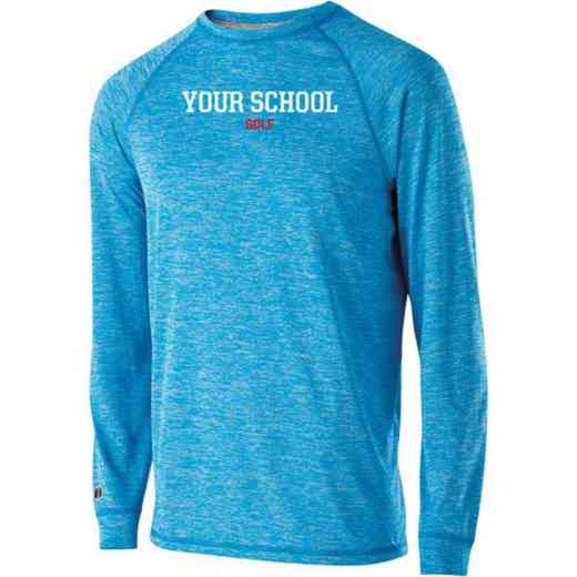 Golf Youth Holloway Electrify Long Sleeve Performance