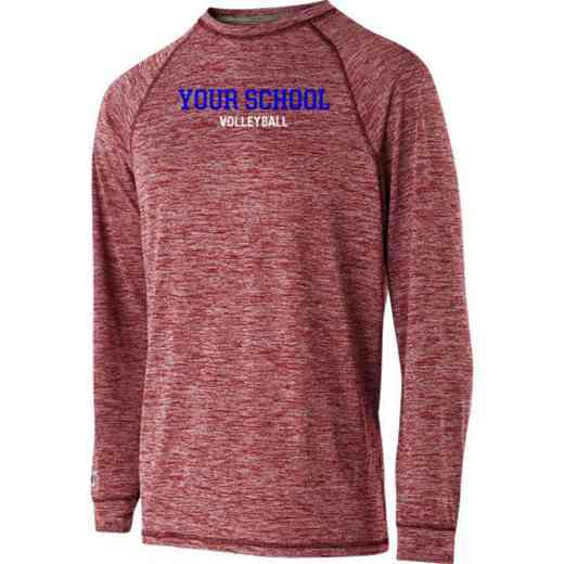 Volleyball  Youth Holloway Electrify Long Sleeve Performance