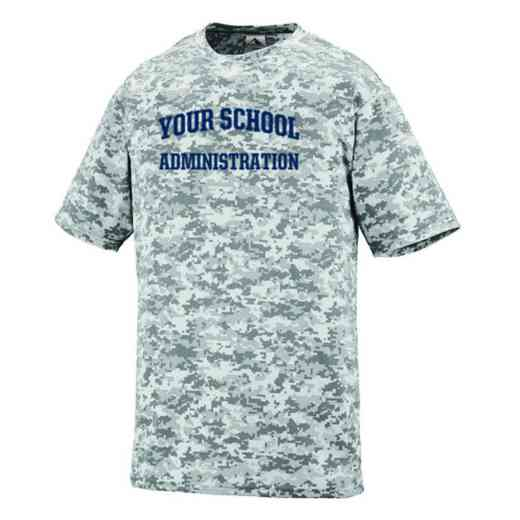Administration Augusta Digi Camo Performance T-Shirt