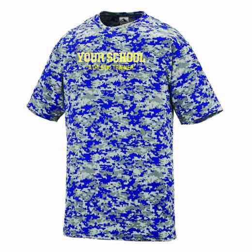 Athletic Trainer Augusta Digi Camo Performance T-Shirt