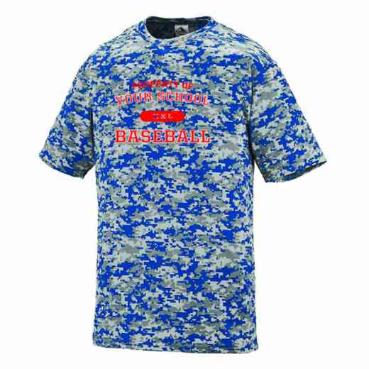 Baseball Augusta Digi Camo Performance T-Shirt