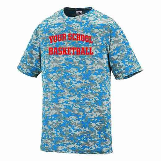 Basketball Augusta Digi Camo Performance T-Shirt