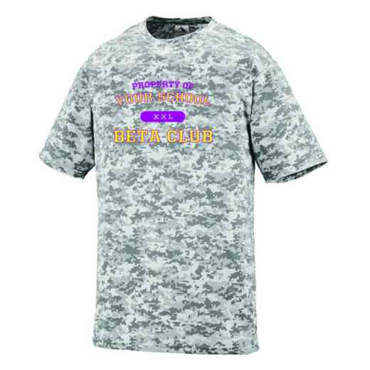 Beta Club Augusta Digi Camo Performance T-Shirt