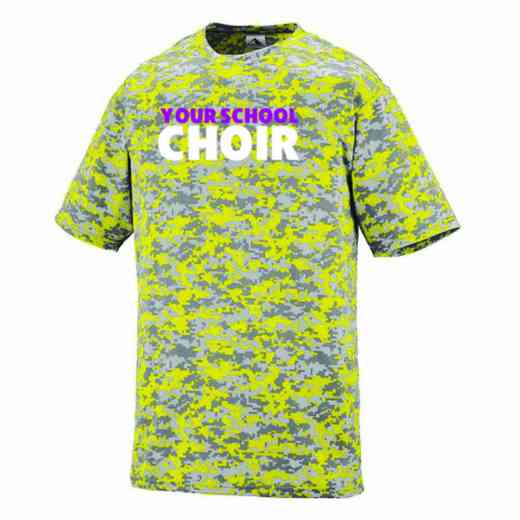 Choir Augusta Digi Camo Performance T-Shirt
