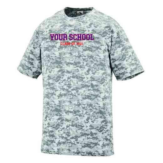 """Class of """""""" Augusta Digi Camo Performance T-Shirt"""