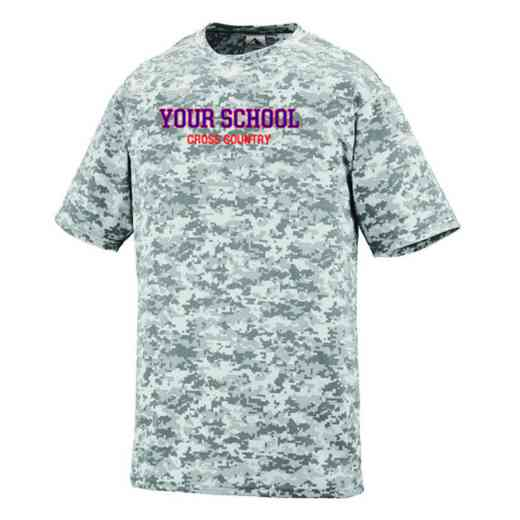 Cross Country Augusta Digi Camo Performance T-Shirt