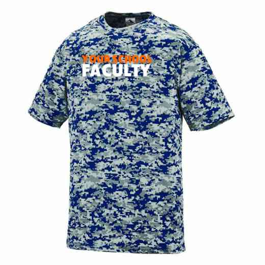 Faculty Augusta Digi Camo Performance T-Shirt