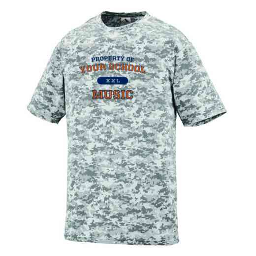 Music Augusta Digi Camo Performance T-Shirt