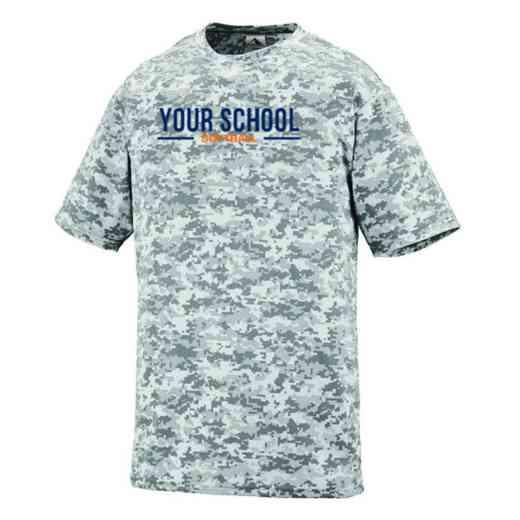 Softball Augusta Digi Camo Performance T-Shirt