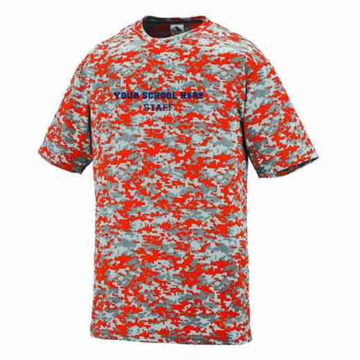 Staff Augusta Digi Camo Performance T-Shirt