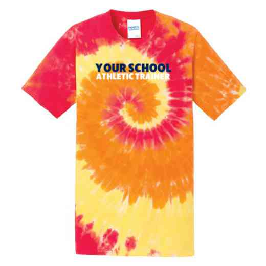 Athletic Trainer Tie Dye T-Shirt