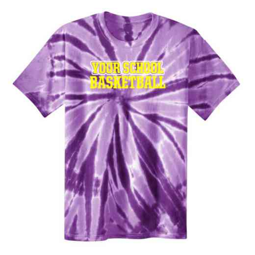 Basketball Tie Dye T-Shirt