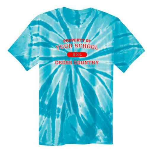 Cross Country Tie Dye T-Shirt