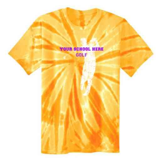 Golf Tie Dye T-Shirt
