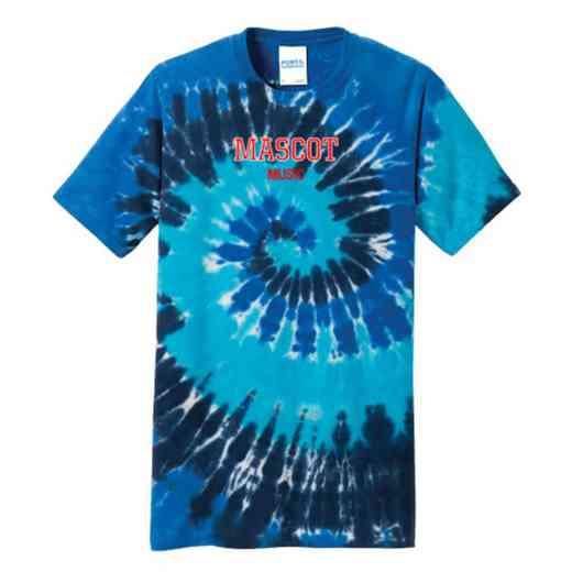 Music Tie Dye T-Shirt