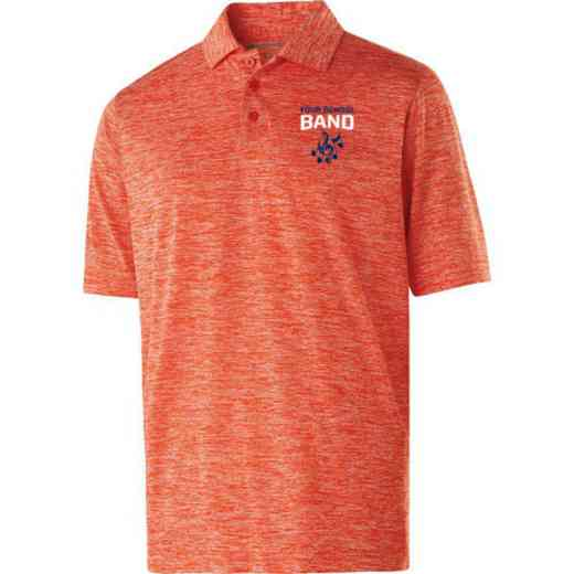 Band Embroidered Holloway Electrify Polo
