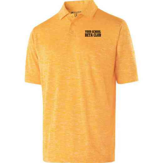 Beta Club Embroidered Holloway Electrify Polo