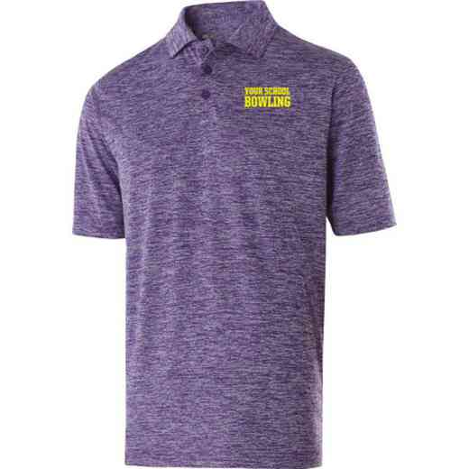 Bowling Embroidered Holloway Electrify Polo