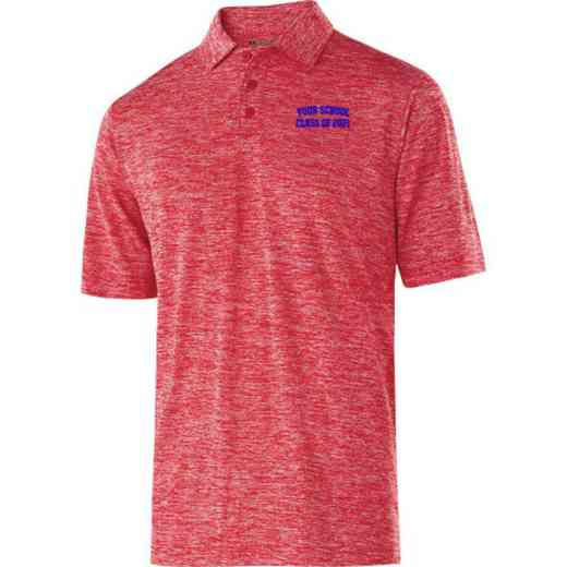 """Class of """""""" Embroidered Holloway Electrify Polo"""